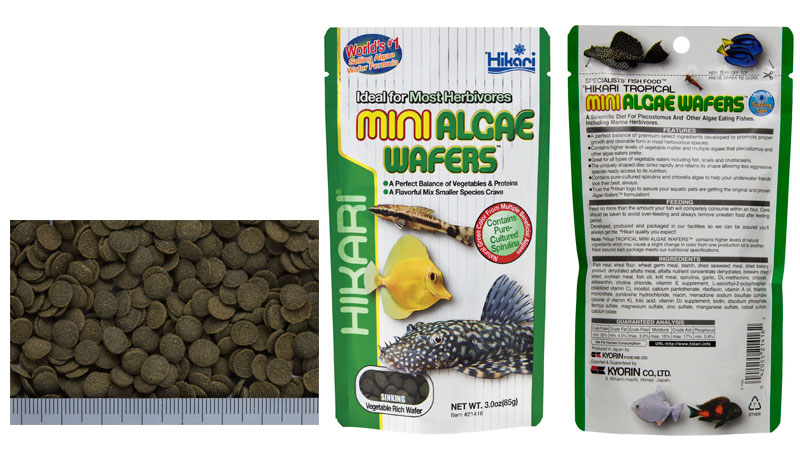 Mini Algae Wafers
