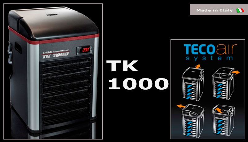 Аквариумный холодильник TECO TK1000